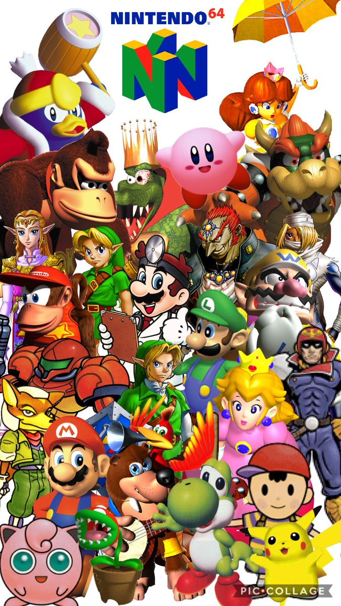 23 years ago the n64 was released where most of the games were fully 3d modeled. 2 years later banjo and kazooie was released and they joined in with Nintendo's all stars. And now he's ready to reunite with them after all these years. 17 years of support all leading to this. <br>http://pic.twitter.com/6AX8lobk8H