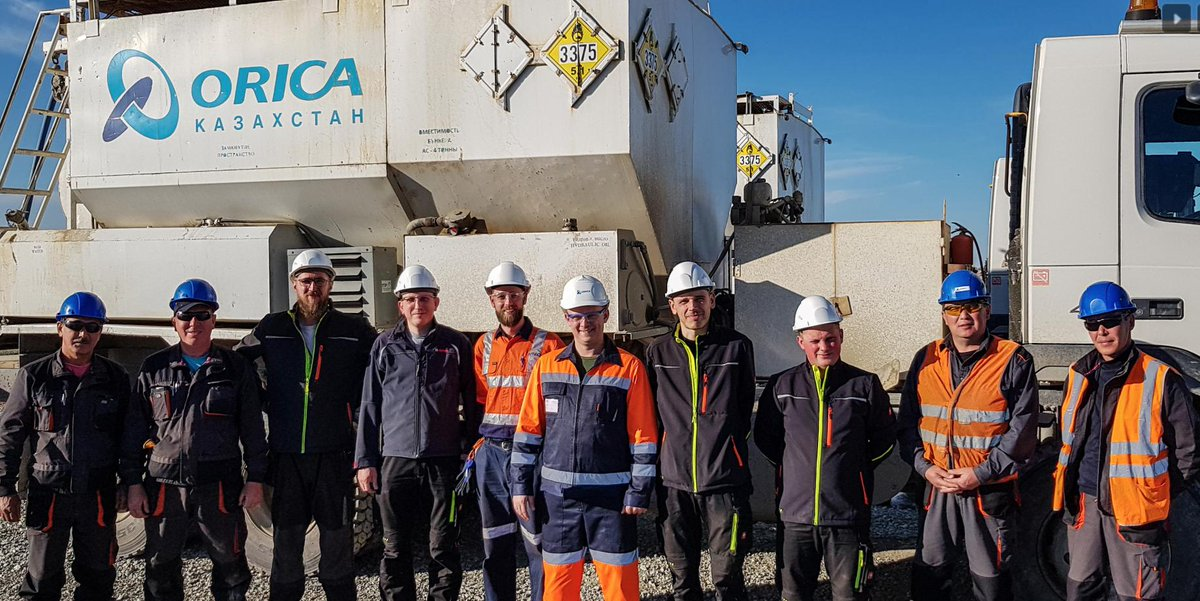 The roll out of a system developed by SITECH Construction System continues for Orica with Kazakhstan 🇰🇿 the latest destination for one our staff as part of the implementation. Read our blog post: https://t.co/JhxqYwvCEN https://t.co/d6q7okOoPW
