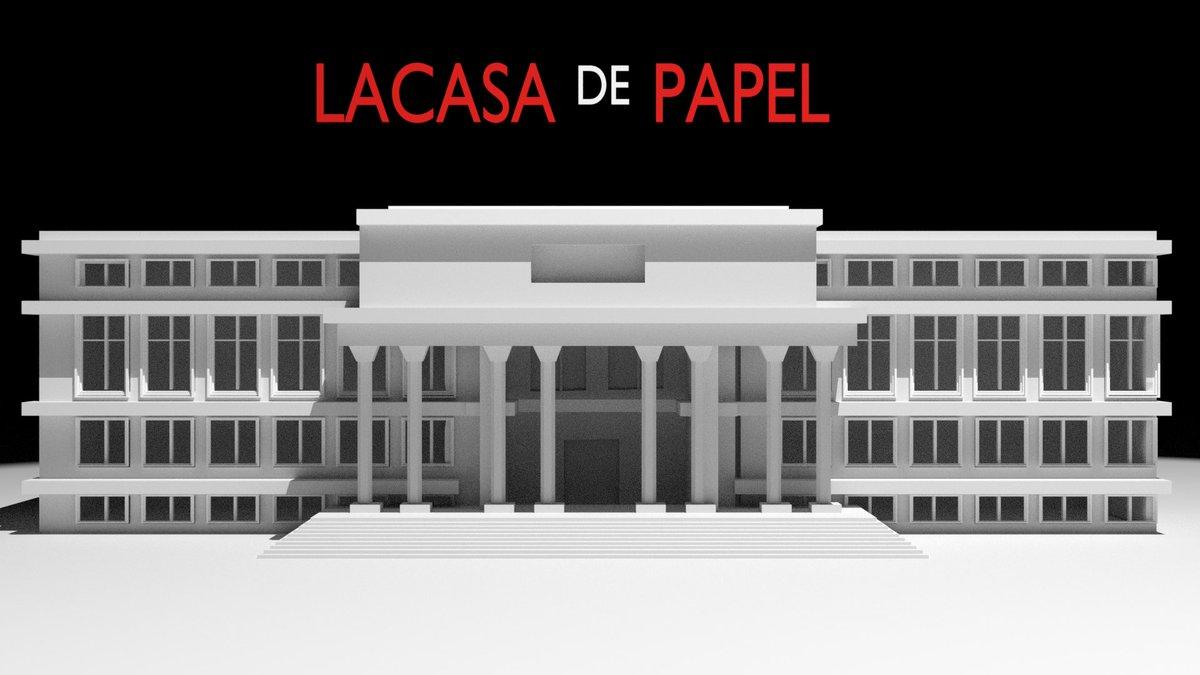 #LaCasaDelPapel My 3D design  <br>http://pic.twitter.com/lzTCPap8mv