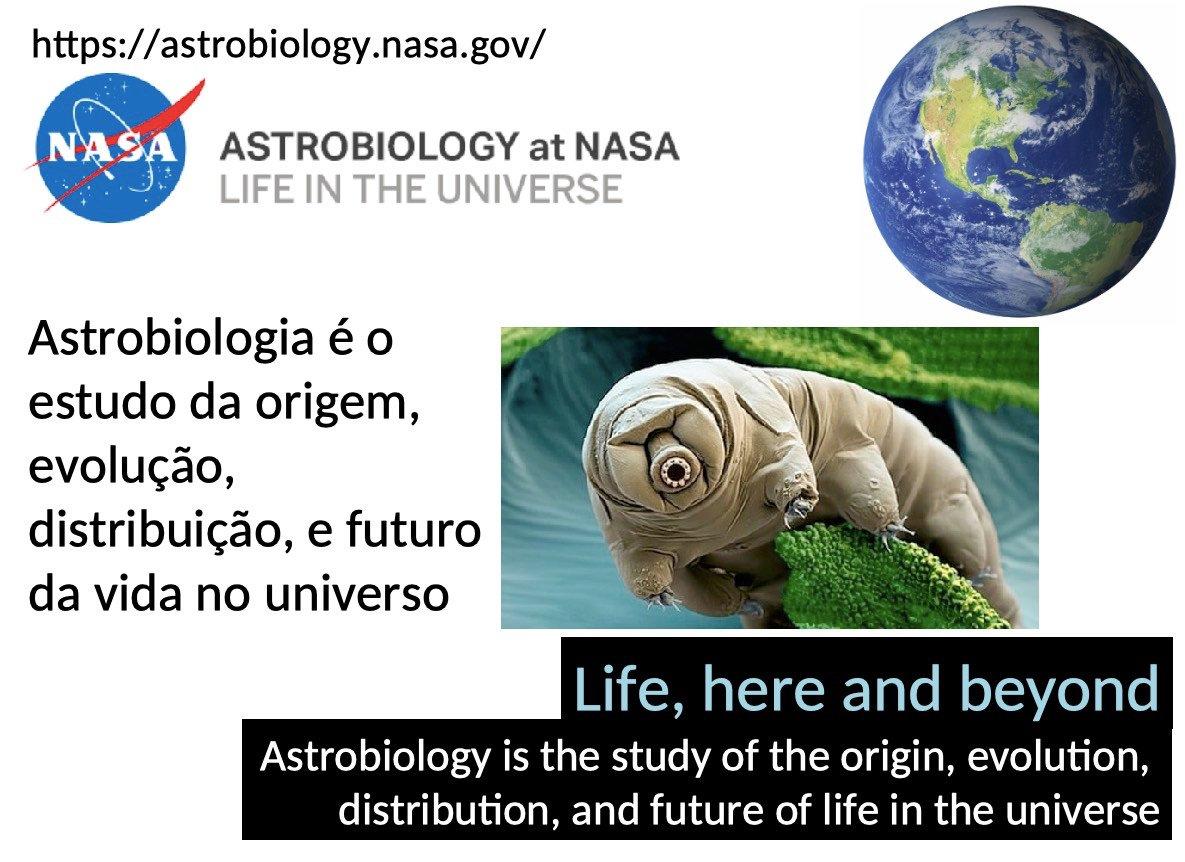 Na 3af (23/julho) vou oferecer aula de Astrobiologia e Exoplanetas em curso de extensão do IAG/USP. Muita discussão sobre astronomia, estrelas, planetas, geofísica, atmosfera, vida, zona habitável circumestelar e na Galáxia, fim dos oceanos e biosferahttp://www.iag.usp.br/astronomia/ceu2