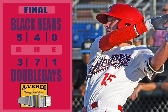 Doubledays drop fourth straight game on Sunday
