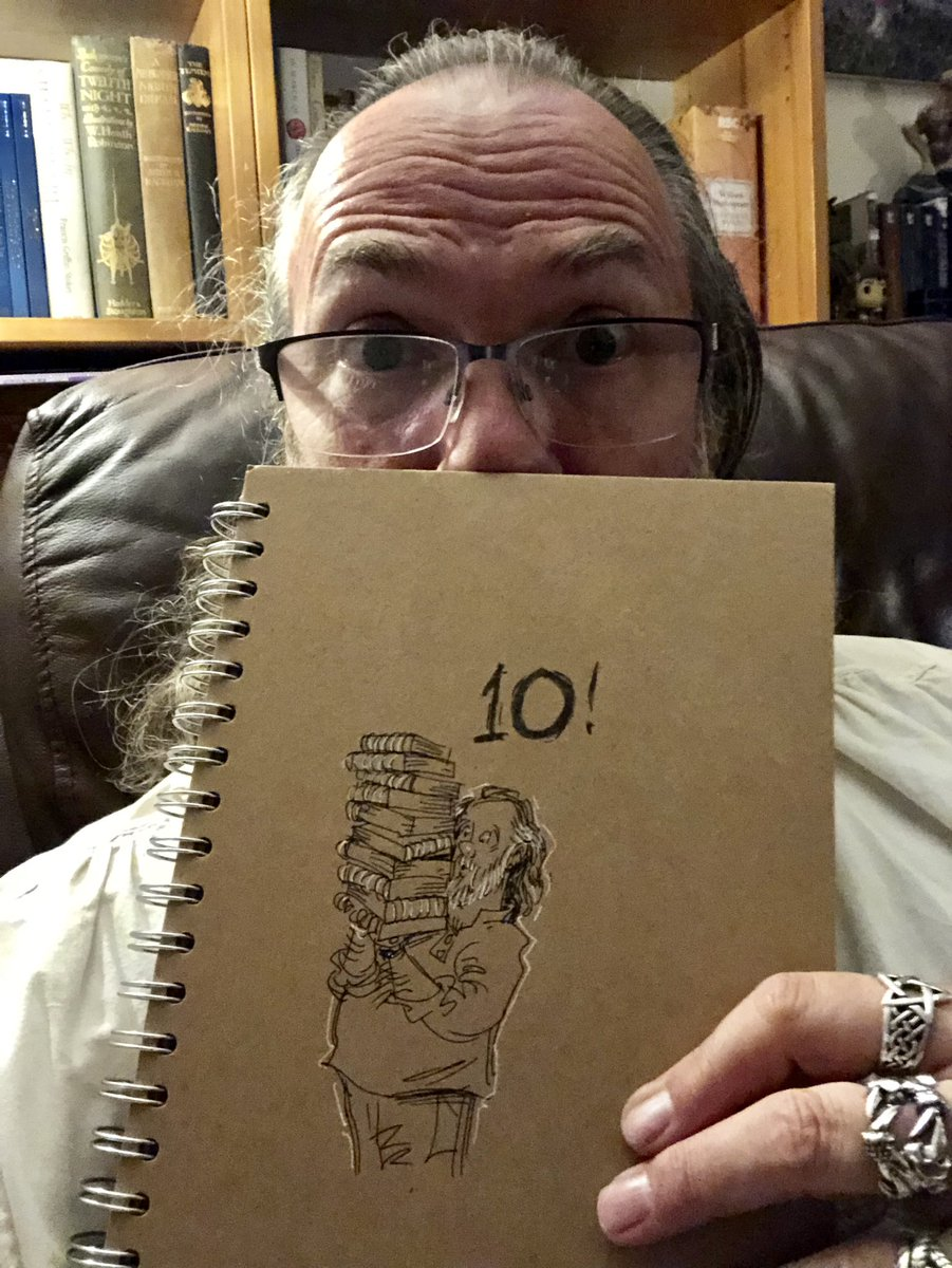 Blimey! Book 10... my grateful thanks to all you lovely followers. I will carry on doodling about coping with grief, solo parenting, funny kid stuff and all my other bits and bobs, as well as raising awareness about #Sepsis for as long as I can hold a pen. Xx<br>http://pic.twitter.com/0V47ed78BI