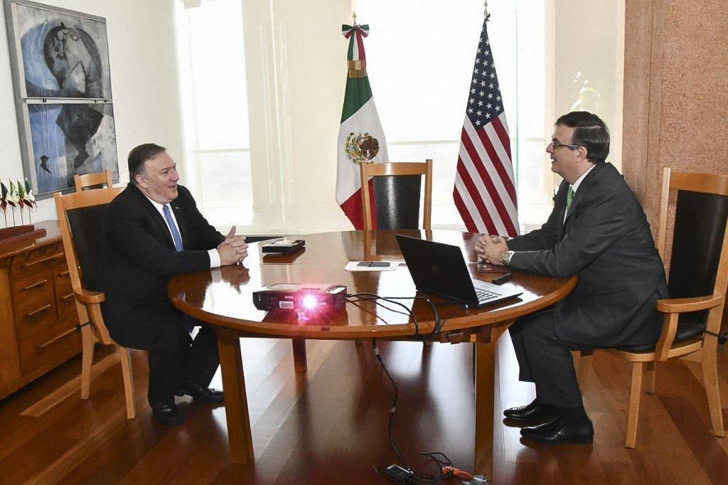 El secretario de Estado estadounidense, Mike Pompeo, agradeció el domingo a México los avances para frenar la migración ilegal en vísperas de que venza un plazo fijado por Washington a esos efectos.