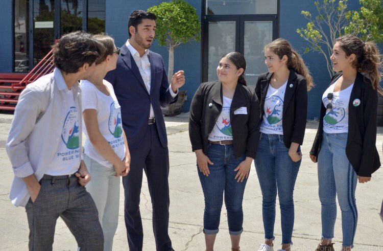 Thank you to @ACampaNajjar for taking a moment to thank our fellows who have been making calls to voters in CA-50!   Our Young Dems will be phone banking again this week! #BlueWave2020 <br>http://pic.twitter.com/f69G9AOKzv