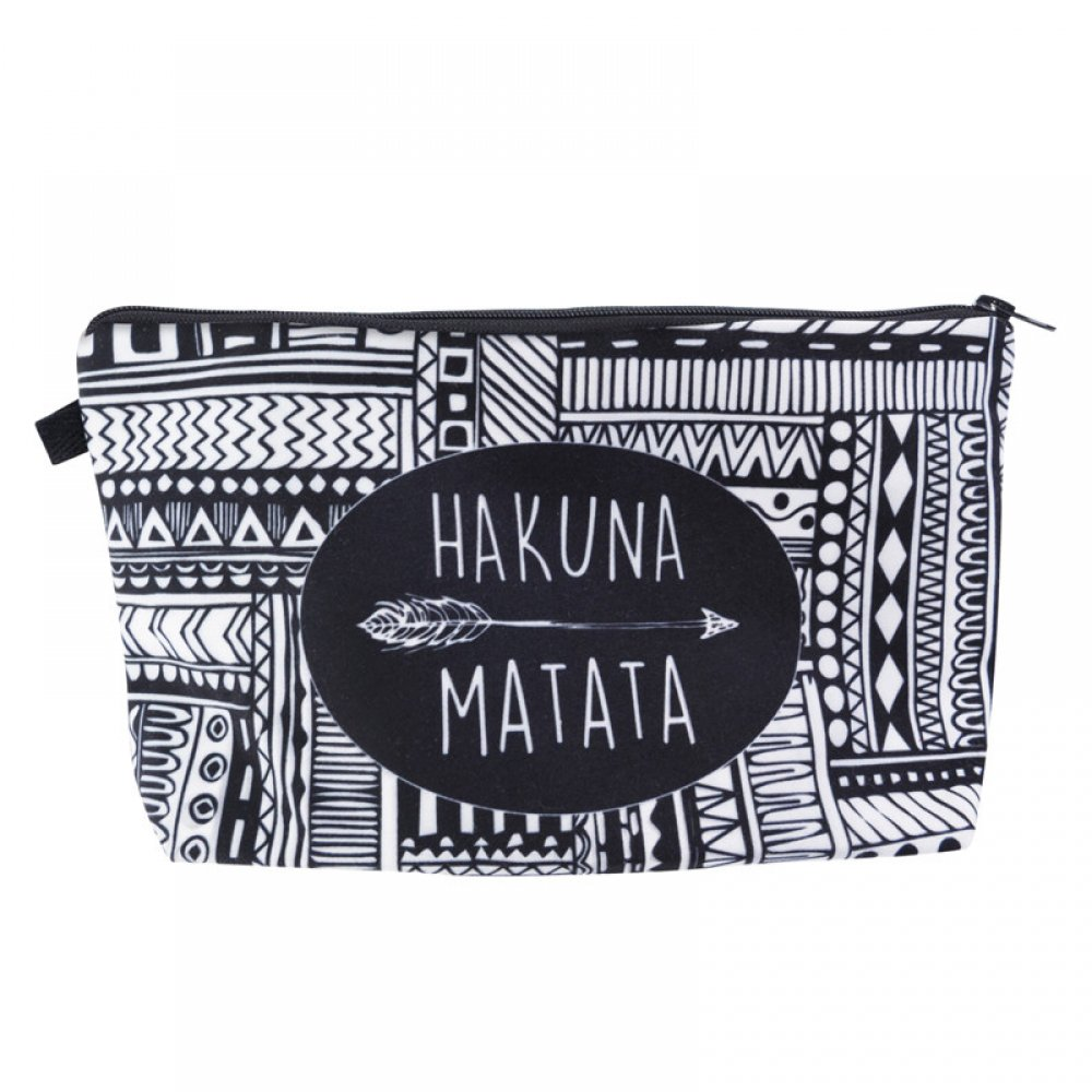Fashion Patterned Cosmetic Bag #fathersday