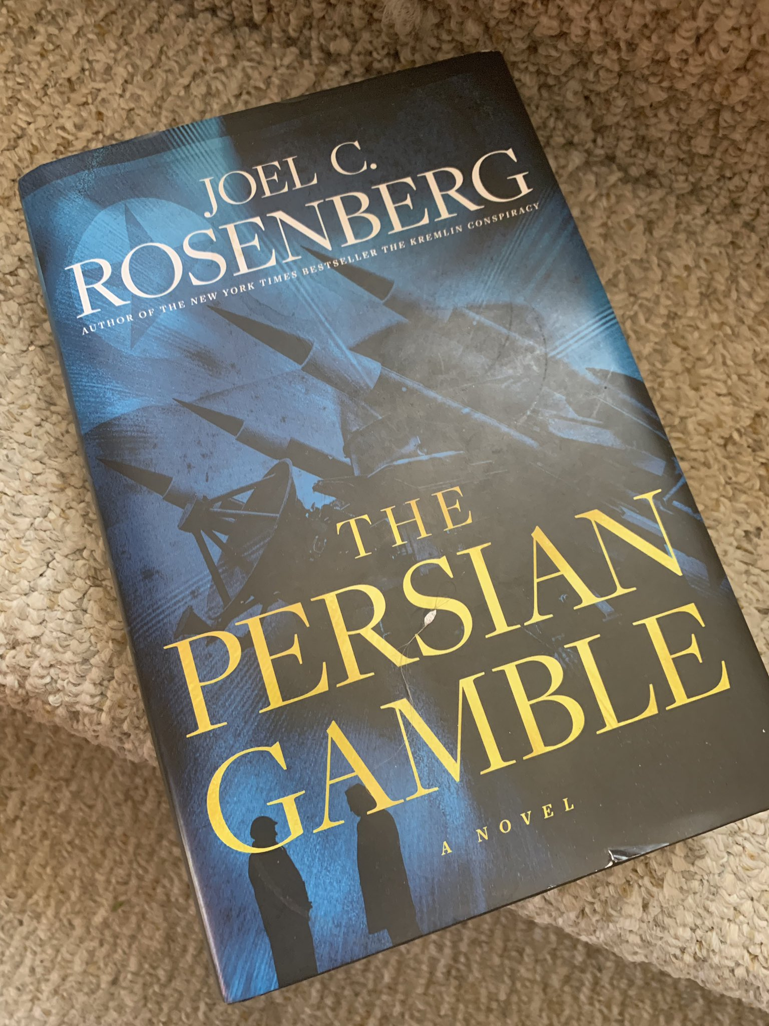 Sean Spicer: Could not put down the latest best selling book by @JoelCRosenberg #thepersiangamble - ...