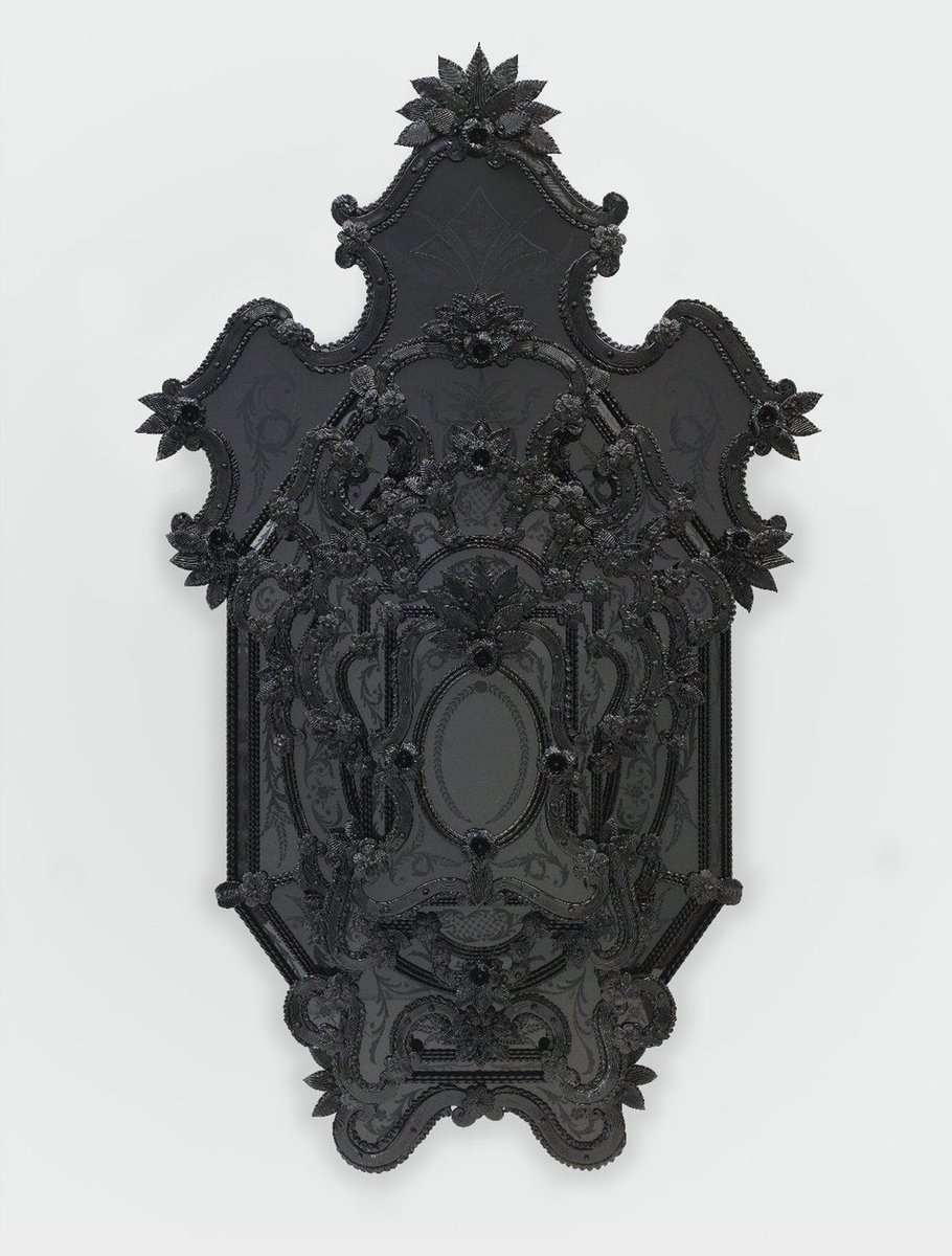 "Recently learned about this awesome art piece ""Iago's Mirror"" by Fred Wilson It's a study on blackness throughout the diaspora. It's Shakespeares Othello - Who was a Black muslim commander in the Venetian army. He was brought down by his soldier Iagos racism"