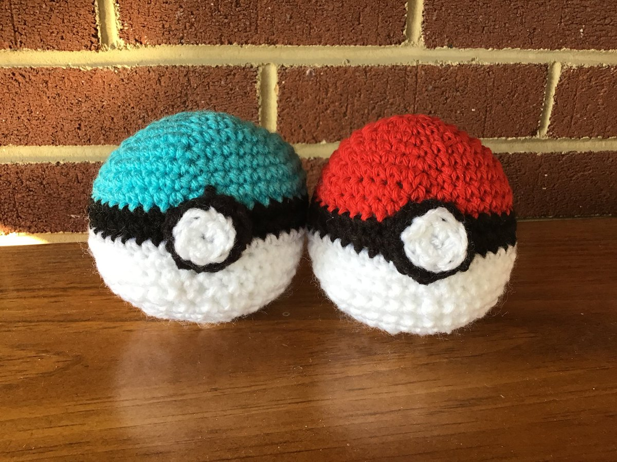Excited to share the latest addition to my #etsy shop: Pokémon ,poke ball, Pokémon go, game, Father's Day, July 4th, Independence Day, boys games,anime, ash, video game, amigurumni , stuffed toy https://etsy.me/2Y49Frr #geekery #red #birthday #white #fathersday #anime