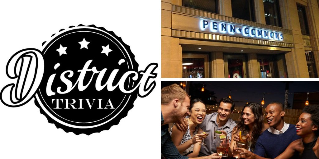 TOMORROW - #Trivia Monday nights 7:30p hosted by  @DistrictTrivia! Drink beer, play trivia & #winprizes! #HappyHour goes all night! Info: http://ow.ly/xuWc50uZz14