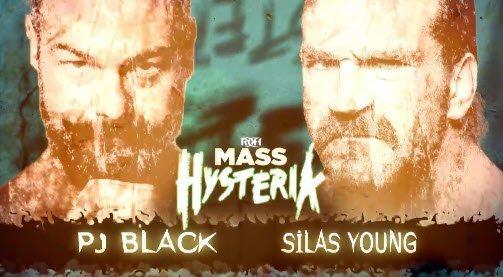 🚧 UP NEXT!  @darewolf333 VS @lastrealmanROH !!!  It will be the high flyer vs The LAST REAL MAN!  #MassHysteria