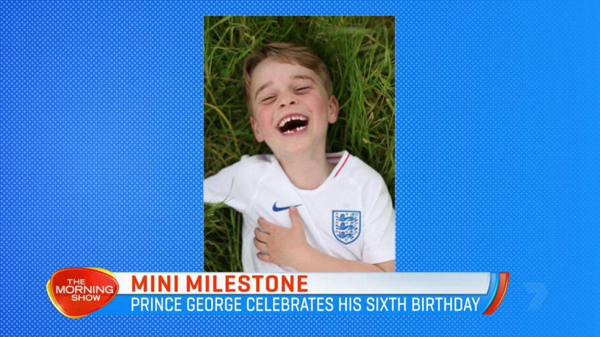 Prins George viert zesde verjaardag. Nieuwe foto's vrijgegeven