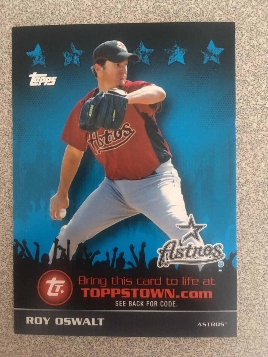 Astros Win number 65 for the #AstrosWinContest will close after they win their 65th game.    Nominate someone to win by commenting their @  Winner receives this Roy Oswalt insert card!<br>http://pic.twitter.com/WpvAWlu7N5