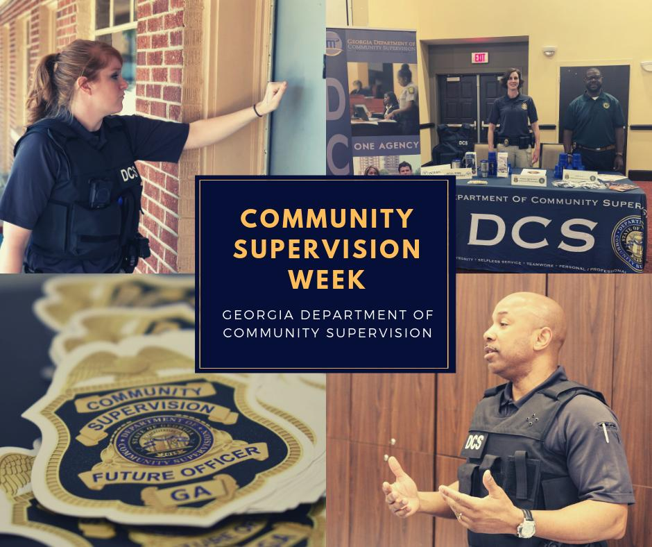 Please join #TeamDCS in celebrating Community Supervision Week 2019! Community Supervision Week is July 21-27 2019, and is an annual celebration with the goal of raising awareness about the amazing work that community corrections professionals do every day! #TeamDCS <br>http://pic.twitter.com/XCfMAjzarl