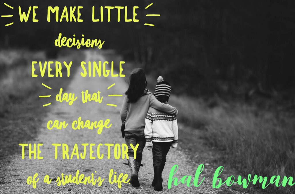 A3: @halbowman always shares such great words, and this is one of my favorite quotes from him! #bookcamppd