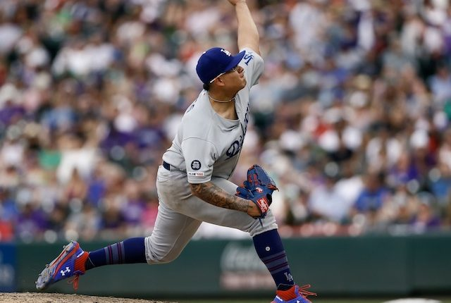 Although it may not be likely, Dave Roberts has not ruled out Julio Urias potentially going back to starting this year. https://t.co/6R12xzwxso https://t.co/rAGKKpyve1