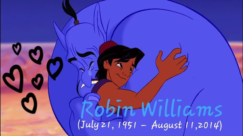 "Happy Birthday in heaven to Robin Williams  #HappyBirthdayRobinWilliams #genie  ""Always Remembered Never Forgotten"" <br>http://pic.twitter.com/R48vrFfbxz"