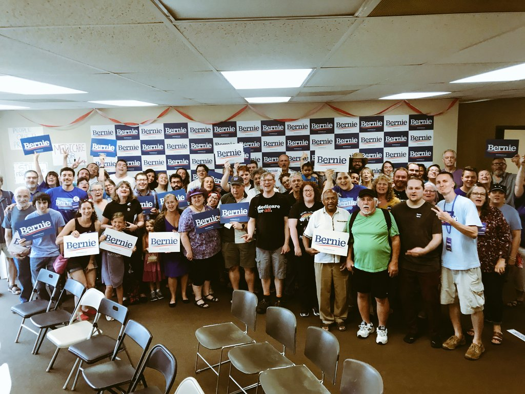 Davenport is ready to bern up the phone and doors - we're building the largest grassroots movement this country has ever seen. It's starting right here in Iowa.  #Bernie2020 #IACaucus #BernieSanders #FeelTheBern <br>http://pic.twitter.com/hDGlENohag