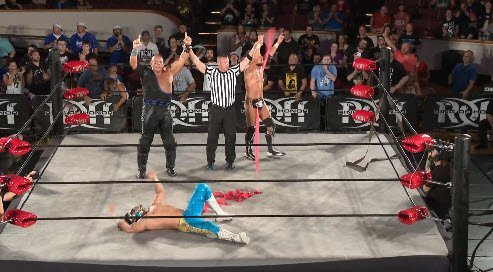 🚧 Marty and PCO defeat LIFEBLOOD in this, all action tag team match!  #MassHysteria
