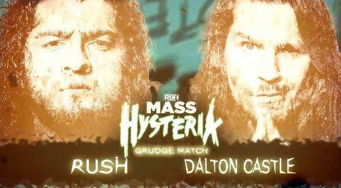 🚧 UP NOW!  Dalton Castle vs RUSH!  #MassHysteria