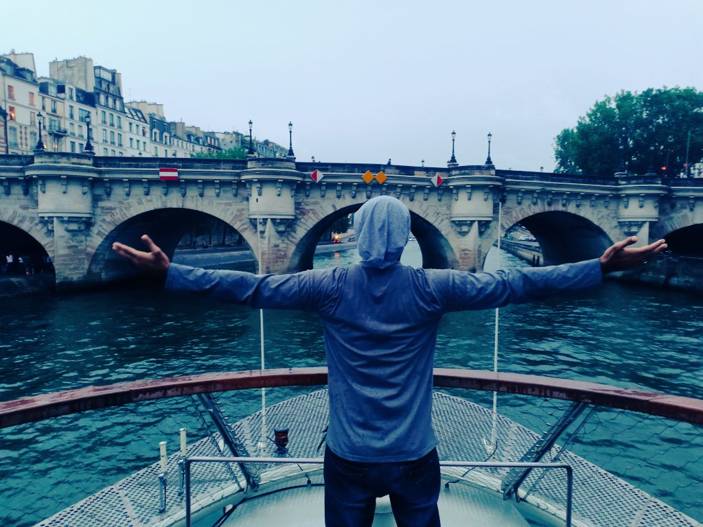 Paris, Rain, Cruise , Titanic Pose ,  Something missing   #City_of_Love<br>http://pic.twitter.com/cC8IDD5e0c