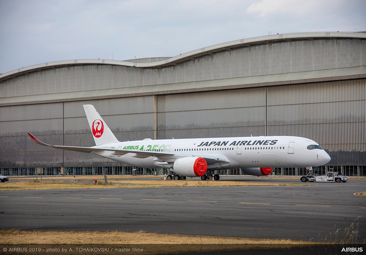Photo by Japan Airlines/Airbus
