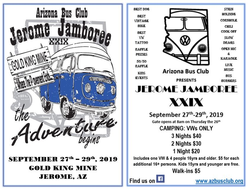 Arizona Bus Club (@AZVWBusClub) | Twitter