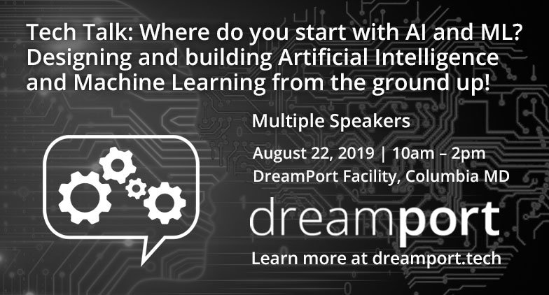 #Learn how to tackle your #AI & #ML tasks most efficiently. #DreamPort #Tech #Talk to give  anyone being tasked with an AI/ML #project an idea of how to build the #tools necessary for #mission accomplishment. @NetApp @NVIDIA #data #edtech #STEM #infosec http://ed.gr/bppfc