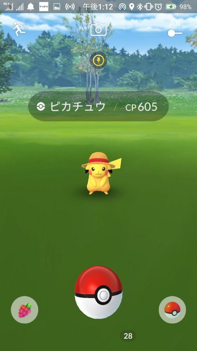 ピカチュウ ポケモン 帽子 go