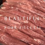 Image for the Tweet beginning: Really popular pork fillets, very