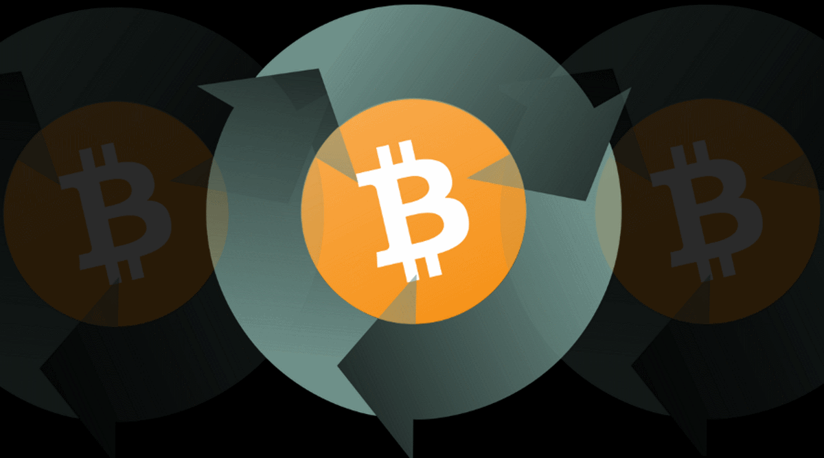 Realizzare Bitcoin Stick per strada. La mappa vivente