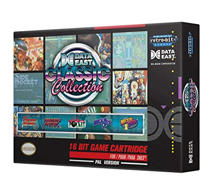 🤓👍 Retro-Bit Data East Classic Collection - version PAL pour Nintendo SNES : 19.12 €  #Version #Pal #Retro-Bit #Soldes2019 ➡ http://tinyurl.com/yxneu2um  ⬅