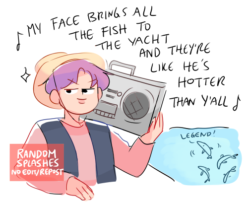 seokjin lures all the fish with his new song #btsfanart #JIN <br>http://pic.twitter.com/3RD1LEj4u2