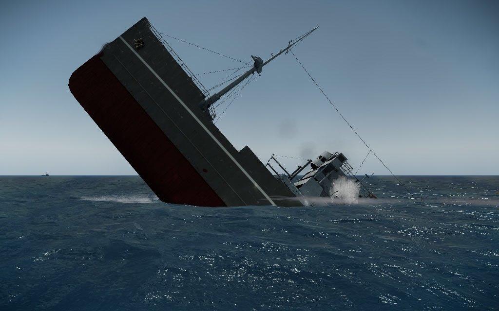 фото тонущего корабля русского языка литературы