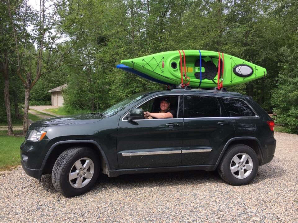 My wife all geared up to go kayaking on the Mississippi in northern Mn! #offroad #jeep @Jeep<br>http://pic.twitter.com/AnMvLrwEt4