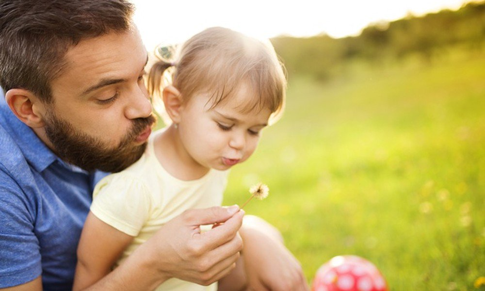 Открытки папа с детьми, картинки смыслом