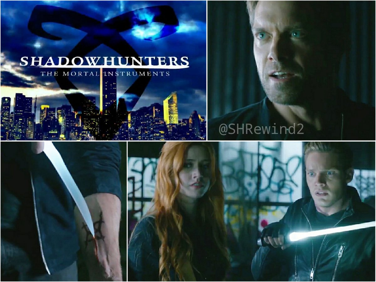 SHADOWHUNTERS Season 1. Episode 11 «Blood Calls to Blood» Let me try 😳🗡️ Monday 22/7 - 8pm EST/ 2am CET Tuesday 23/7 - 7pm BST/ 8pm CET