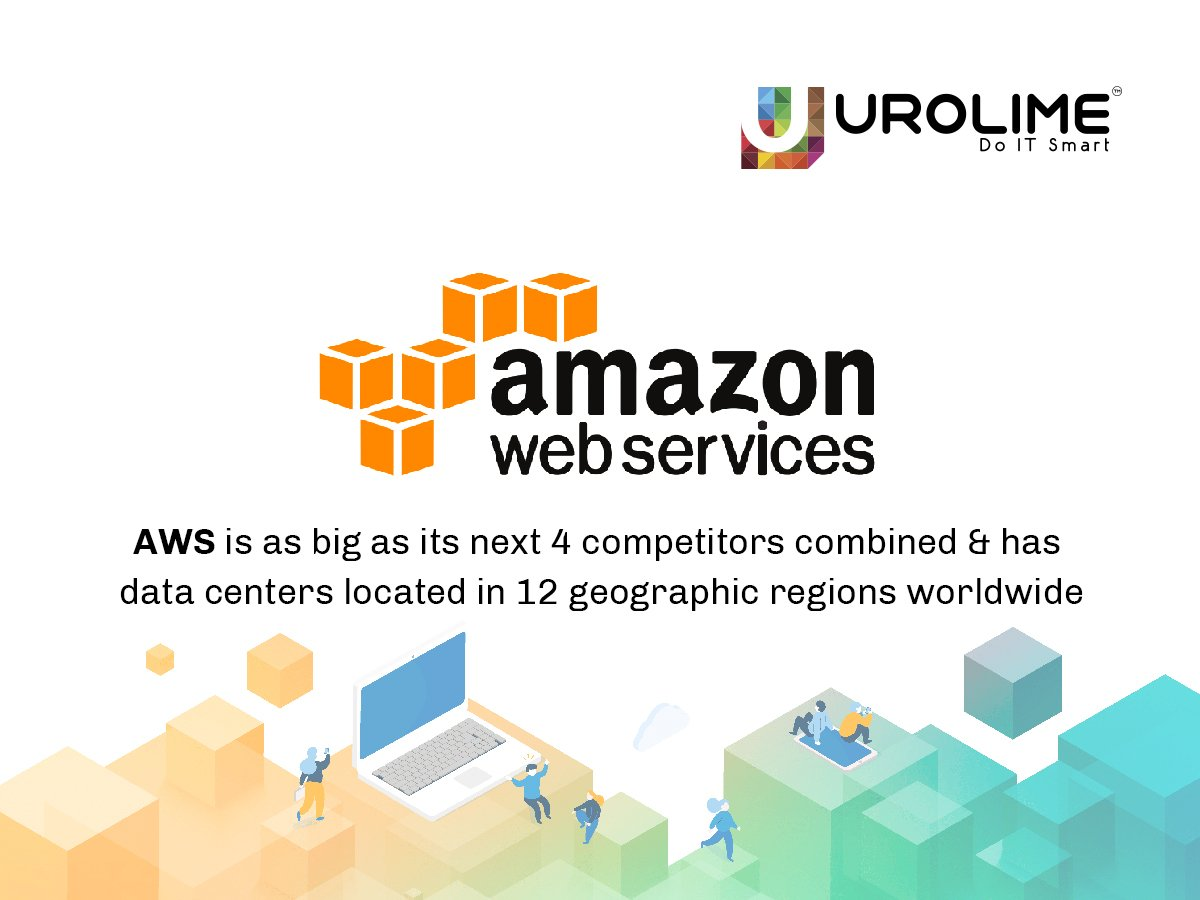 AWS is as big as its next 4 competitors combined & has data centres located in 12 geographic regions worldwide #AWS #Amazonwebservices #Datacentres #services ##data ##web #Doitsmart #Urolime