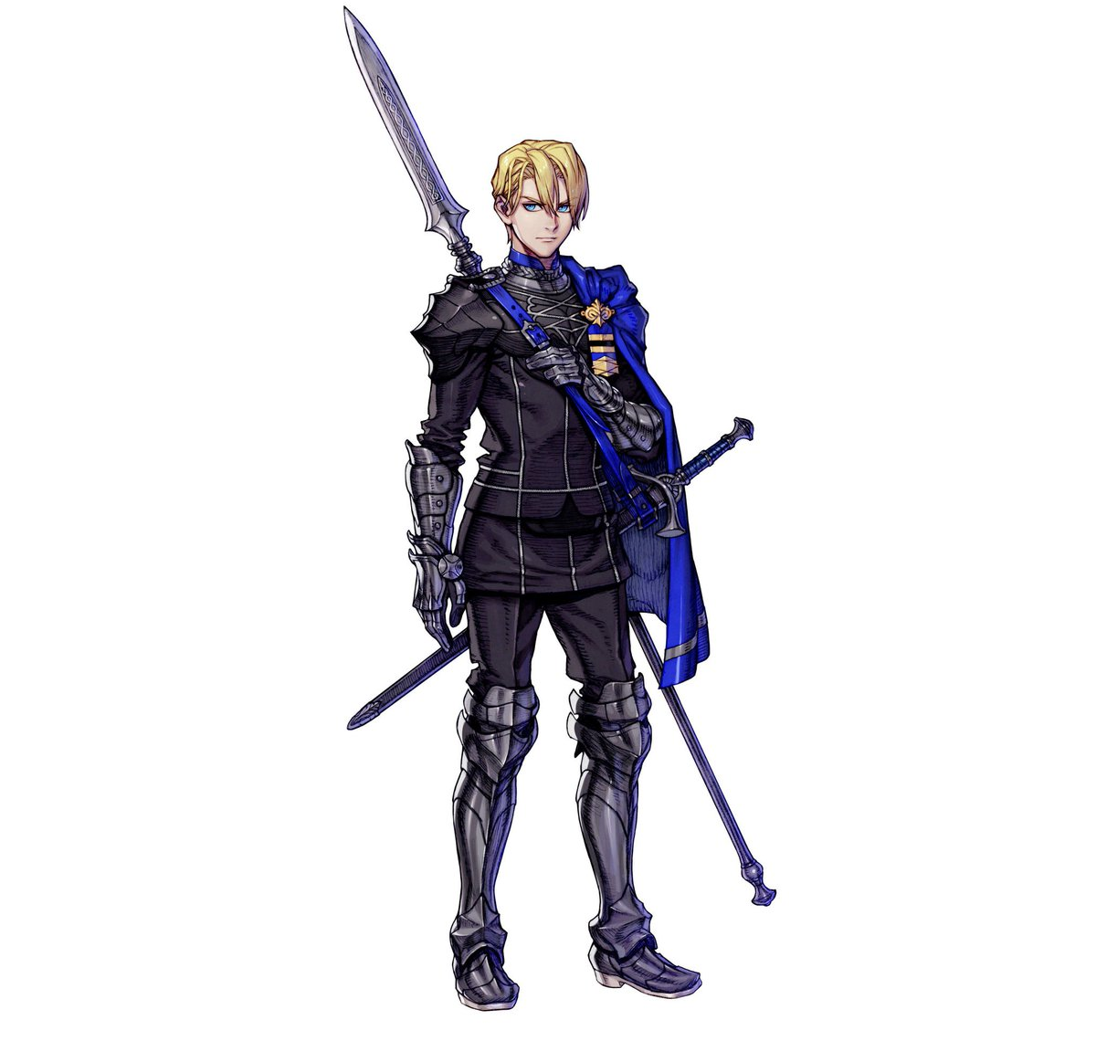 【Hero Intro: Dimitri】 Crown prince of the Holy Kingdom of Faerghus. Known for his chivalry, it seems a darkness may lurk beneath the surface. Appears in Fire Emblem: Three Houses.   Click for Hero Page:  https:// guide.fire-emblem-heroes.com/en-US/12003001 000400/   …  #FEHeroes<br>http://pic.twitter.com/7CzUpcWHbE