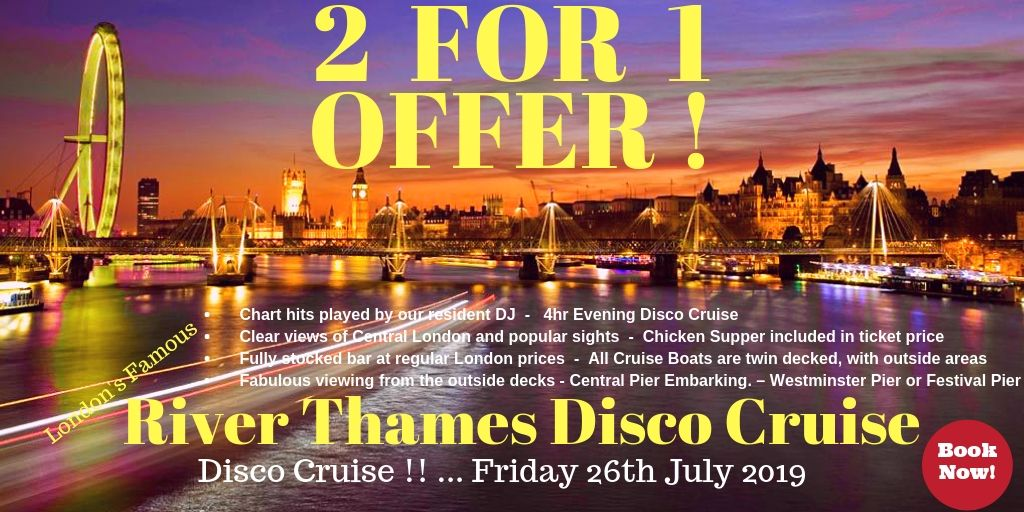 River Thames Disco Cruises - 2-4-1 Offer!  http://ow.ly/YRvO50pYCXy    #riverthames #london #thames #londoneye #towerbridge #city #visitlondon #disco #travel #londonlife #londoncity #thisislondon #unitedkingdom #southbank #westminster #thamesriver #bigben #londontown #londonist