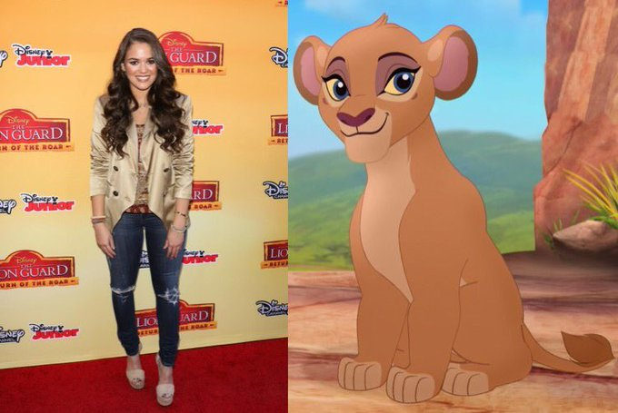 Happy 21st Birthday to Madison Pettis! The voice of Zuri in The Lion Guard.