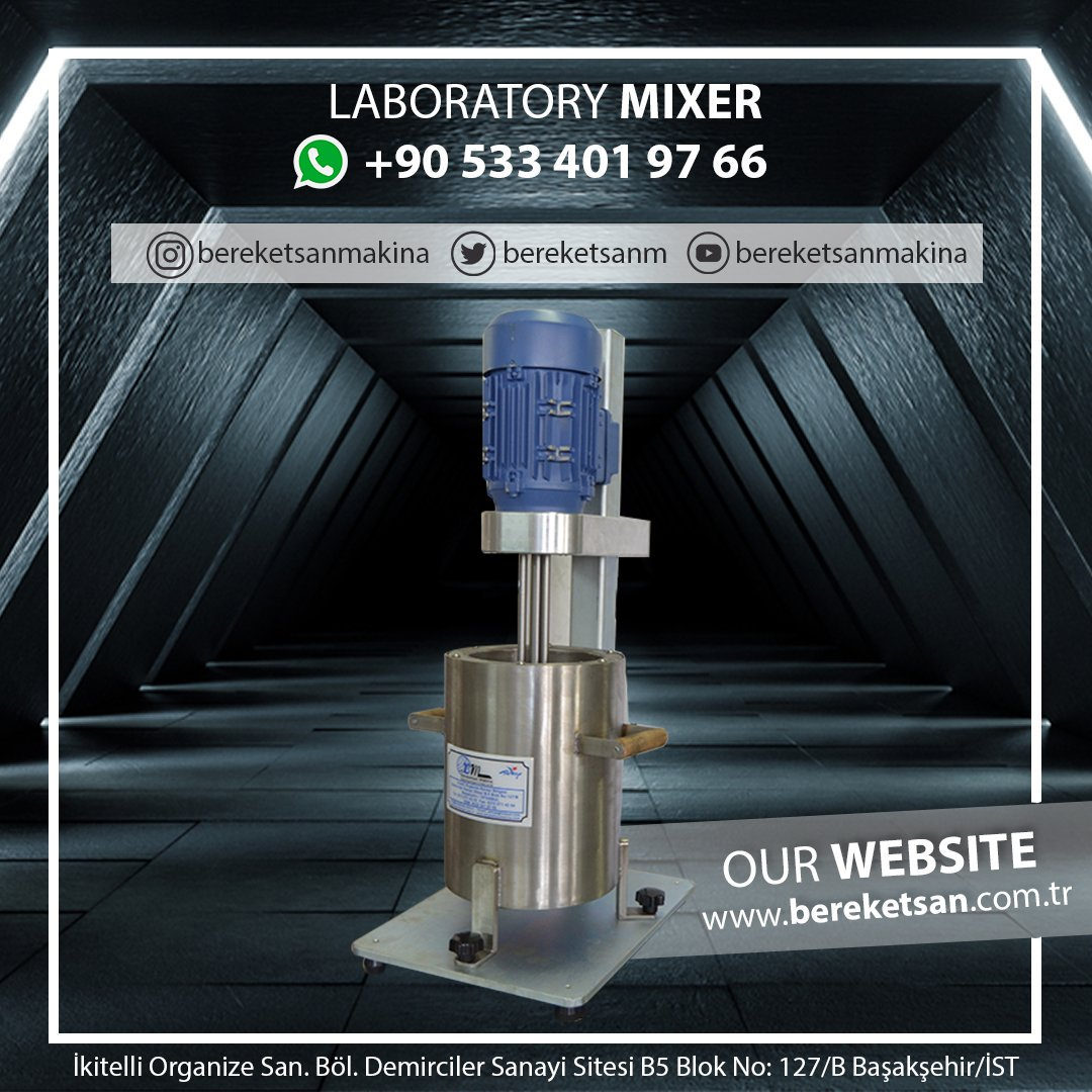 Laboratary Mixer bereketsan.com.tr/reaktor-ve-mik… Our Website: bereketsan.com.tr #bulgaria #paris #russia #ukrainia #france #england #america #emirates #dubai #turkey #MachineLearning #machine