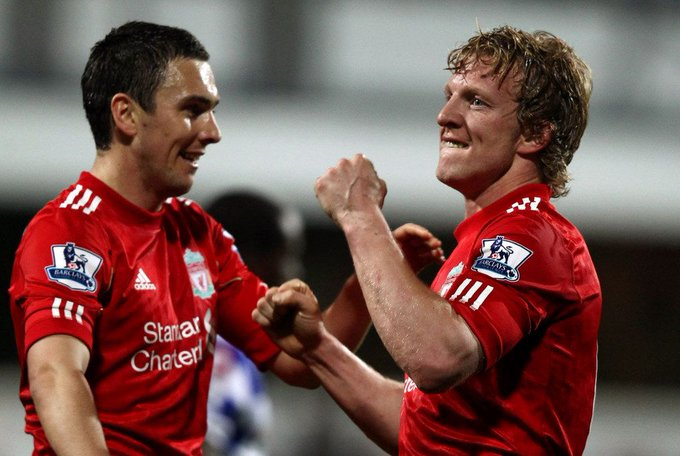 Happy birthday to Dirk Kuyt and Stewart Downing who were both born on 22 July (1980 and 1984 respectively).