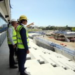 Image for the Tweet beginning: Exclusive NQ Stadium tour for
