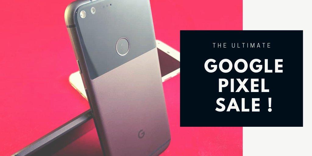 DUA (2) BIJI GOOGLE PIXEL UNTUK DIBERIKAN SECARA PERCUMA !  Bersempena The Ultimate Google Sale, kami tawarkan dua biji Google Pixel secara percuma. Hanya perlu Follow, RT dan Like tweet dan pemenang dipilih secara rawak.  Jom kita tengok harga sale terbaharu Google Pixel !