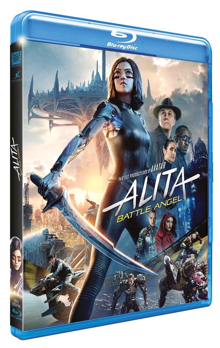 #Concours3 Blu-Rays de #AlitaBattleAngel à gagner !> RT pour tenter ta chance jusqu'au 28 juillet à 20h.> Tirage au sort le 29 juillet.