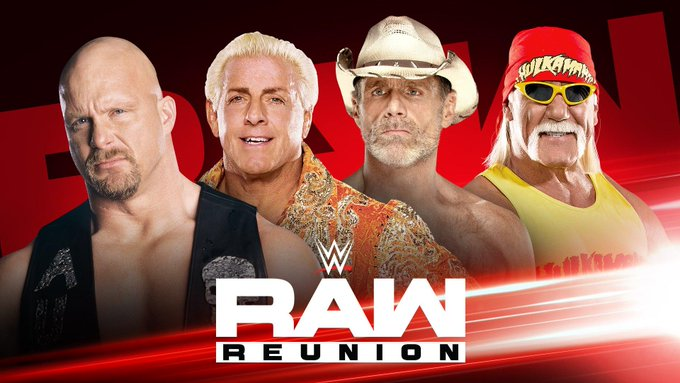 WWE RAW Preview For Tonight - Reunion Special, Brock Lesnar - Seth Rollins Hype, Becky Lynch Segment