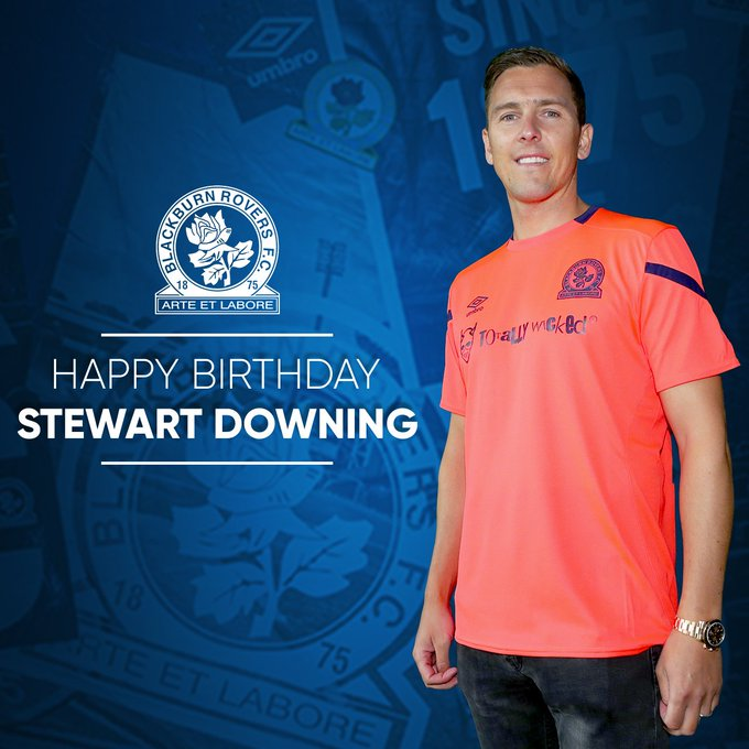 Happy birthday to summer signing, Stewart Downing!