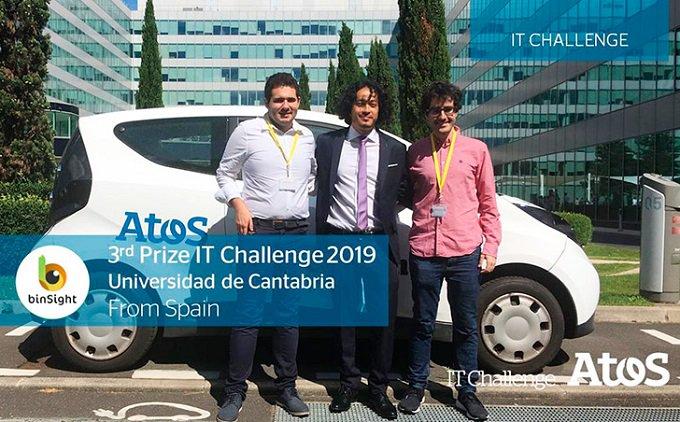 La Universidad de Cantabria @unican gana el tercer premio del @AtosITChallenge con su proyecto...