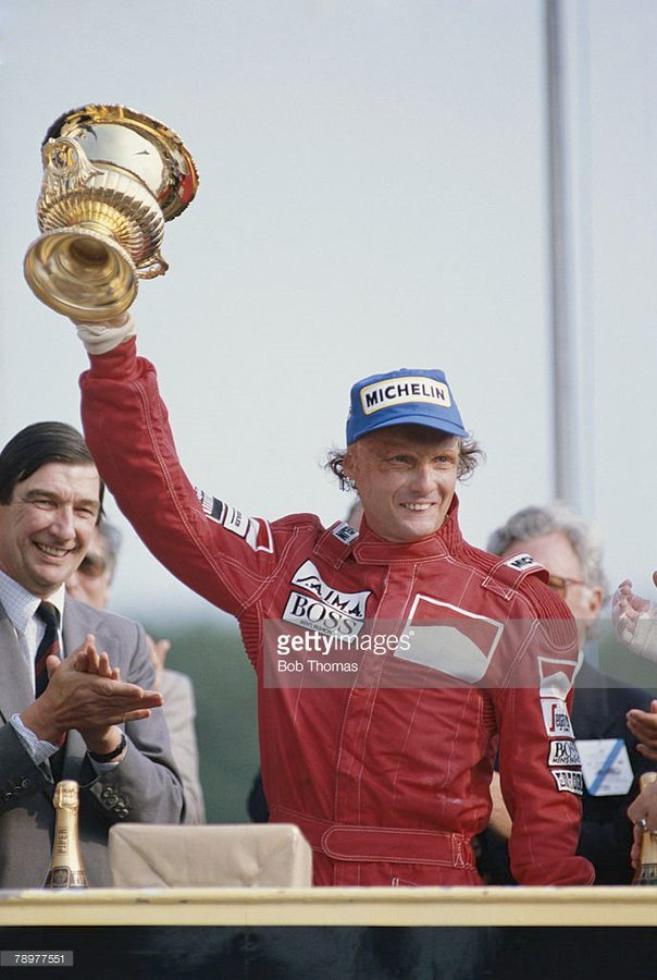 On this day in 1984, Niki Lauda scored his 22nd career @F1 win at @Brands_Hatch #Formula1 #F1 #BritishGP