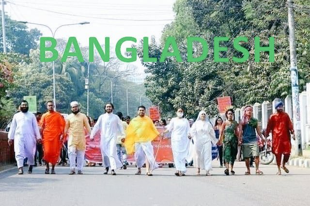#Bangladesh, where the people of all #religions perform their religious activities #equally.